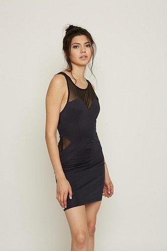 Mesh Cutout Bodycon Dress