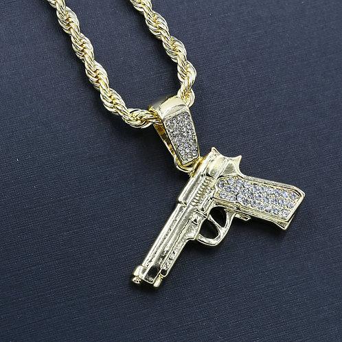 GUN CHAIN AND CHARM - HC547657