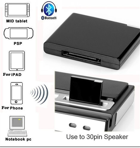 BT V2.1 A2DP Music Receiver Adapter for iPod for