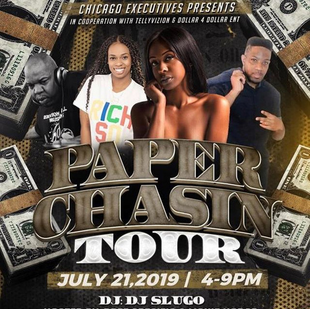 Paper Chasin Tour!