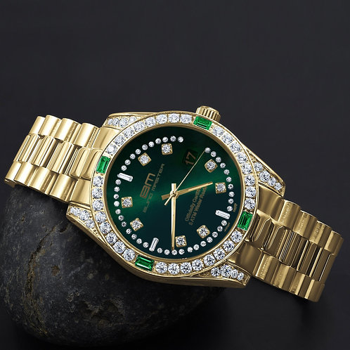MAJESTY Steel CZ Watch | 5303622
