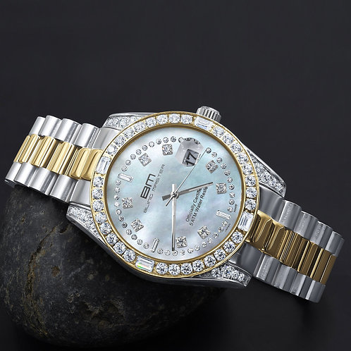 MAJESTY Steel CZ Watch | 5303615
