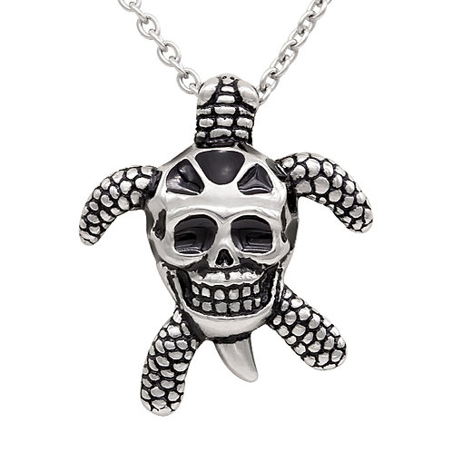 Tortoise Skull Necklace