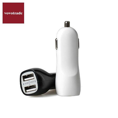 3.1A Mini Dual 2 Port USB Car Charger