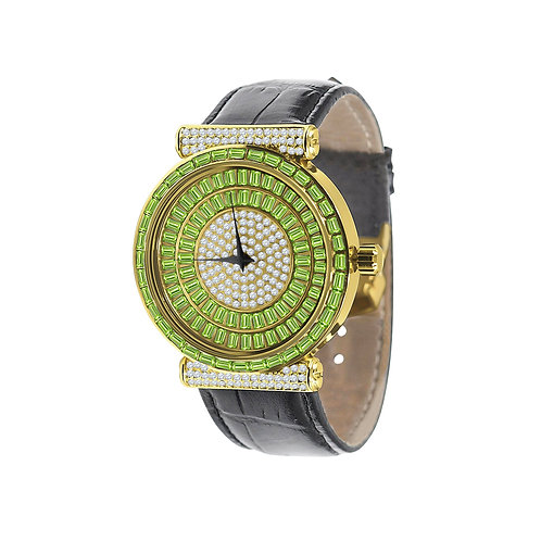 Plaltial Bling Leather Watch | 51103522