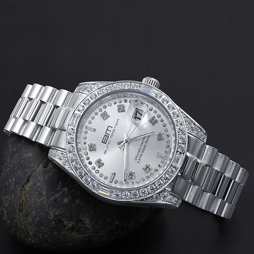 MAJESTY Steel CZ Watch | 530361