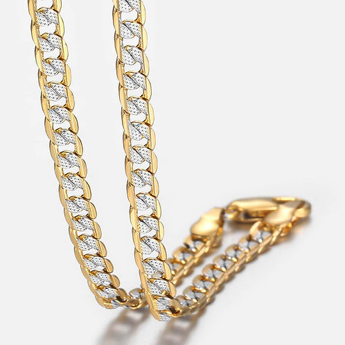 Gold Chain Necklace for Men Women Cuban Link Chains Mens Womens