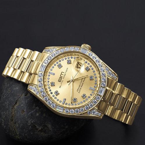MAJESTY Steel CZ Watch | 530362
