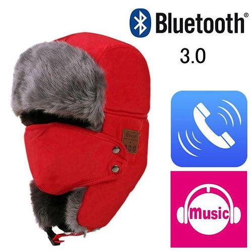 Winter Warm Music Hat Wireless Bluetooth Headset Cap Hat Support