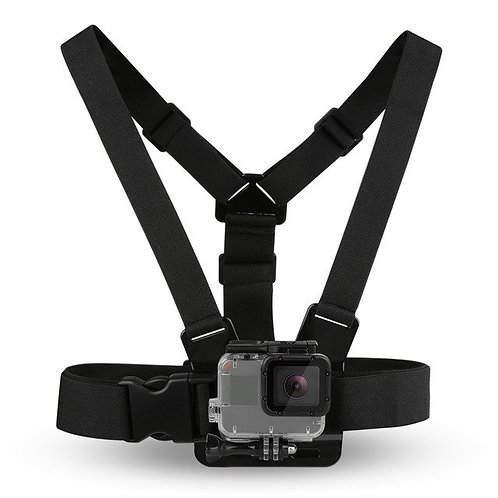 Adjustable Harness Chest Strap Mount For