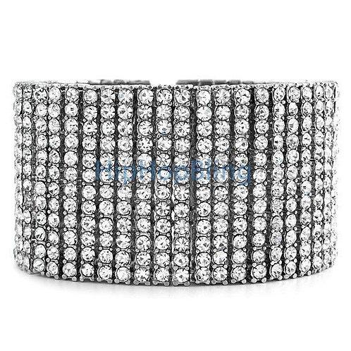 12 Row Bling Bling Bracelet