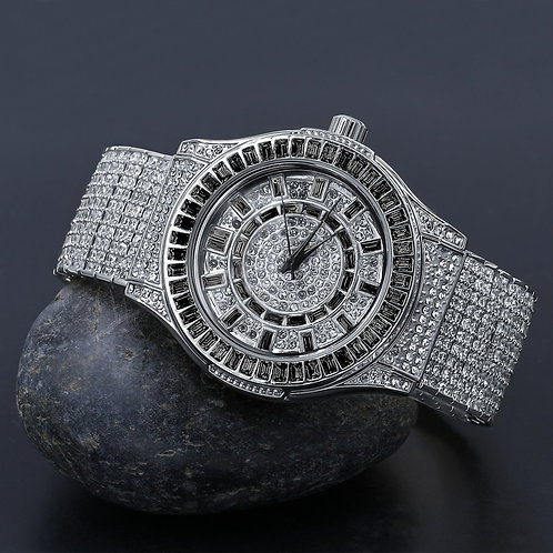 GALLANT Steel CZ Watch   51103333
