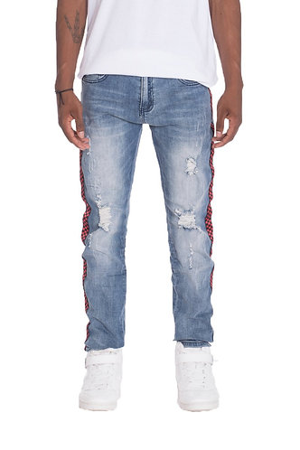 RACER DENIM- BLUE