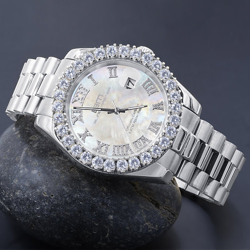 OVERLORD Steel CZ Watch | 5303529