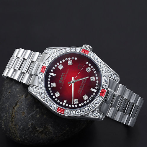 MAJESTY Steel CZ Watch | 5303659