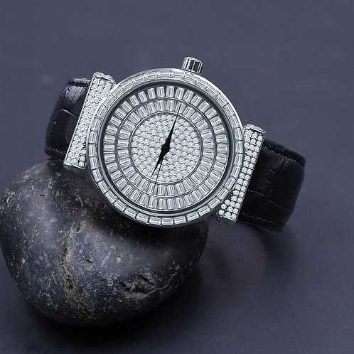 PALATIAL BLING LEATHER WATCH | 5110351