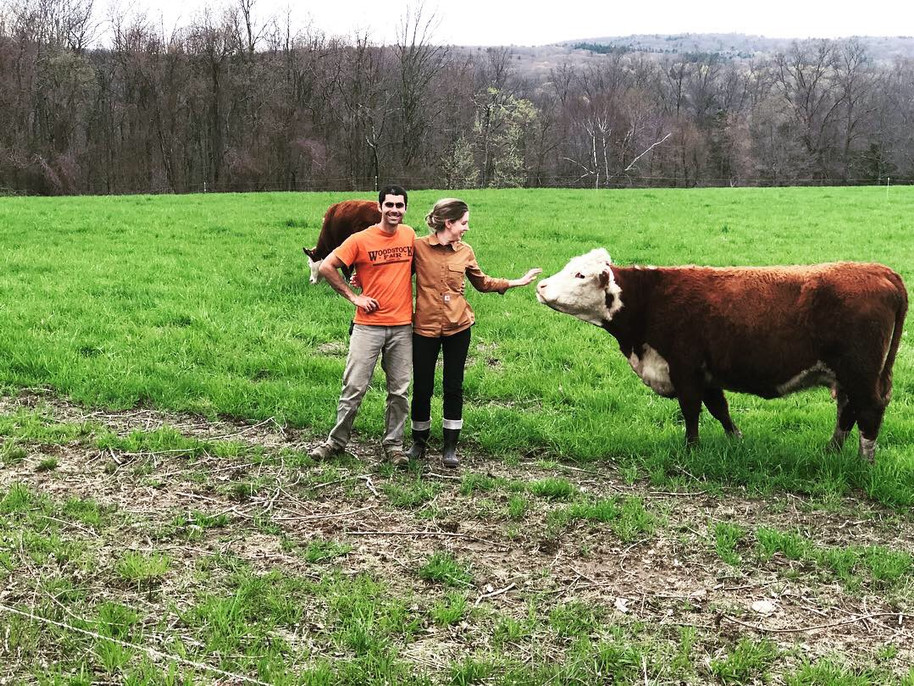 Joe and Lindsay, Owners of Hidden Blossom Farm