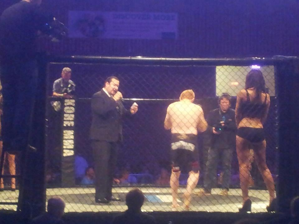 Cage Fighting St Austell