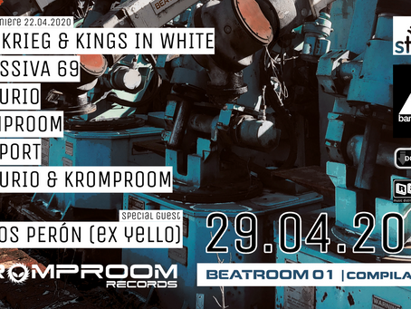 The Compilation Album BEATROOM 01 is an Electronic Roller Coaster.