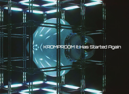 The Special Edition EP It Has Started Again by Kromproom Already On Sale!