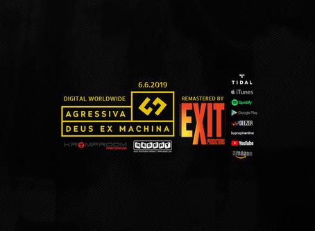 Agressiva 69 Digital Release Of The Remastered Debut Album Deus Ex Machina 6.6.2019