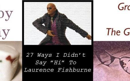 Fishburne, Marshmallows and The Gay Rabbi