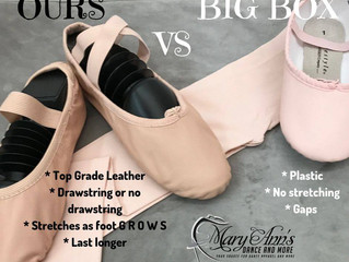 What is the difference between Ballet Shoes?
