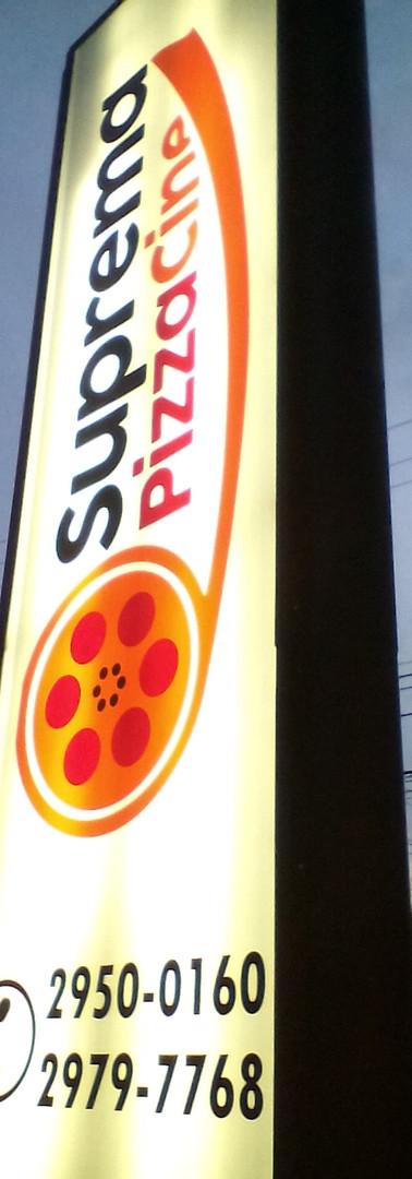 totem suprema pizza cine