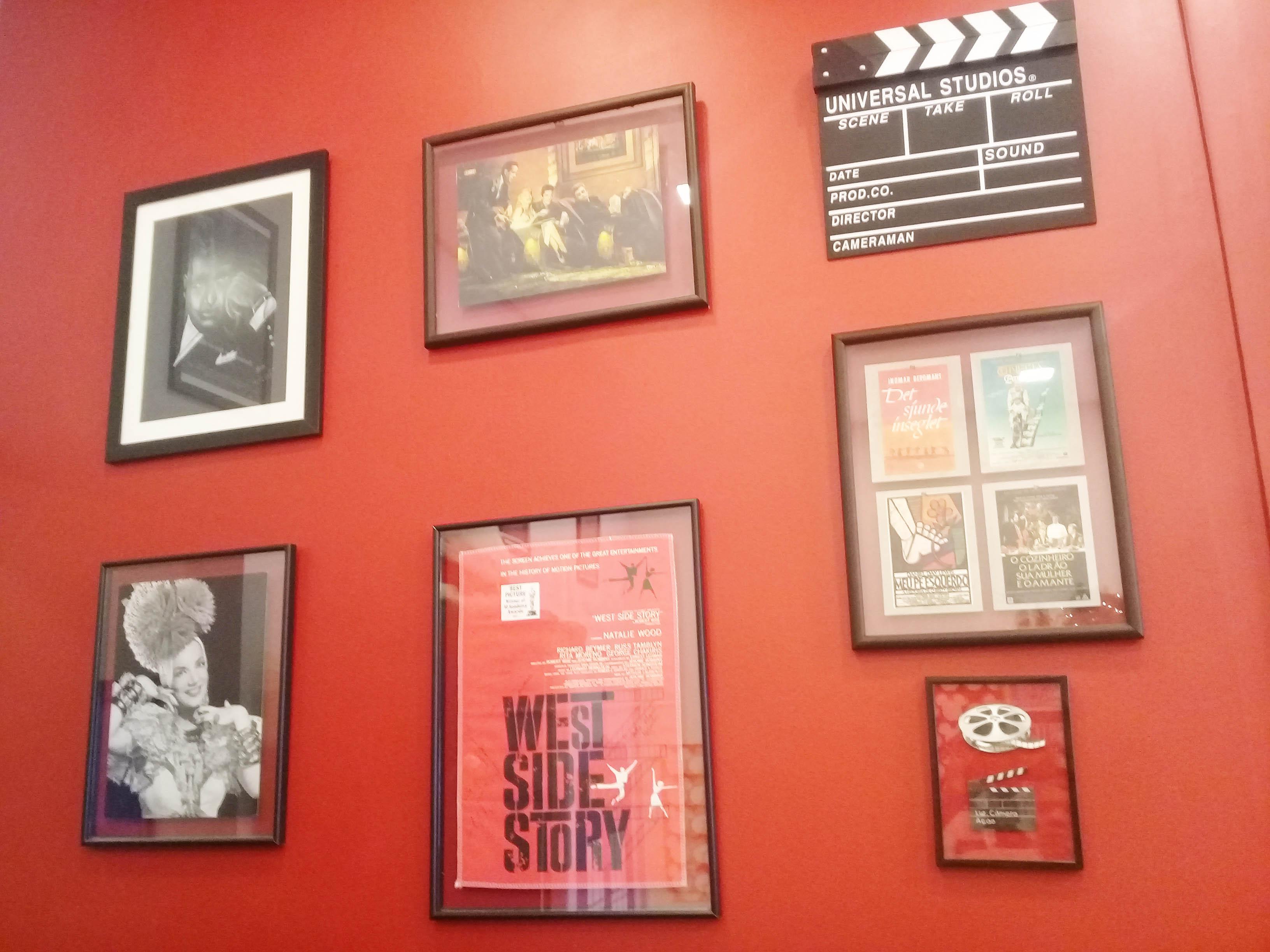 Parede Vermelha de Cinema