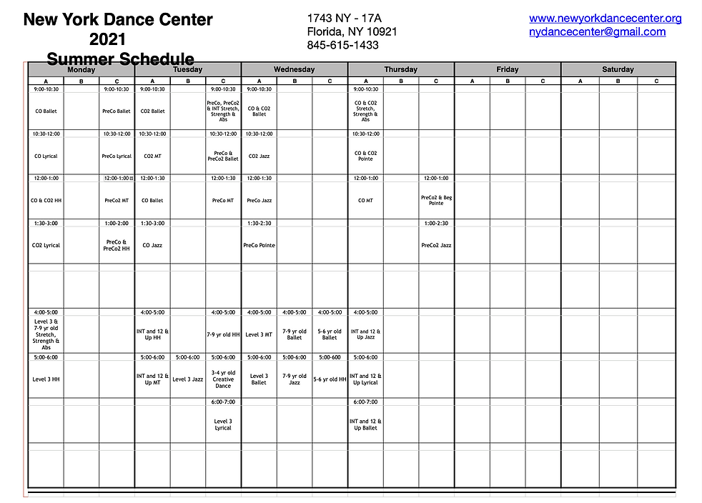 NYDC Summer Schedule.png