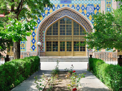 La mezquita azul de Ereván