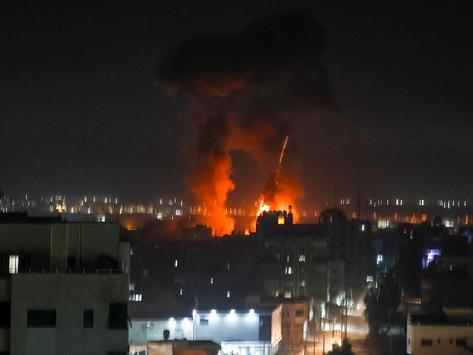 Israel bombardeó la Franja de Gaza por segunda vez desde el alto el fuego
