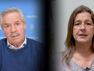 El canciller Solá y la ministra Frederic recordaron el genocidio armenio