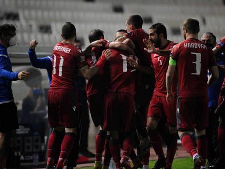 Armenia ascendió de categoría en la UEFA Nations League