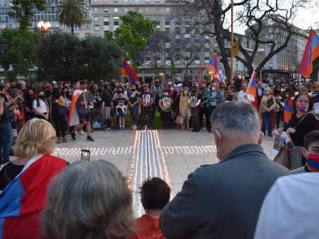 Oración ecuménica por la Paz en la Catedral Metropolitana