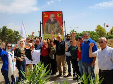 Una calle en Rojava lleva el nombre del armenio Nubar Ozanyan