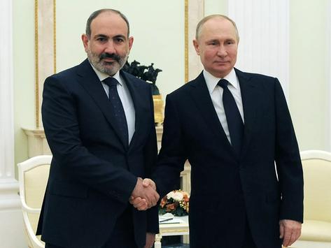 Moscú confirmó que habrá reunión entre Pashinian y Putin