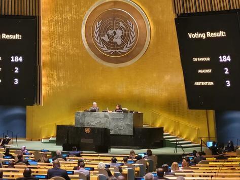 El mundo rechazó el bloqueo genocida de Estados Unidos sobre Cuba
