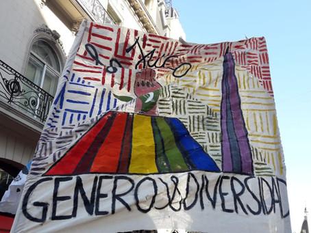 La JUCA repudió la Homofobia, Transfobia y Bifobia