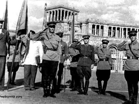 La división armenia que llegó a Berlín y bailó el Kocharí de la victoria