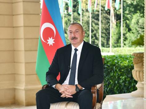 """Aliyev: """"Azerbaiyán inició la guerra"""""""
