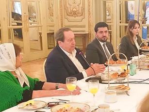 La Embajada de Armenia se reunió con los organismos de Derechos Humanos