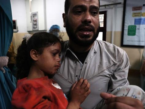 Al menos nueve palestinos murieron por los ataques de Israel en la Franja de Gaza