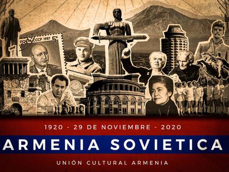A cien años de la Armenia Soviética, declaración de la Unión Cultural Armenia