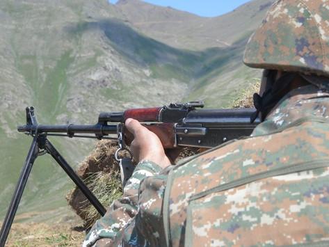 Azerbaiyán volvió a violar el alto el fuego en la frontera de Artsaj