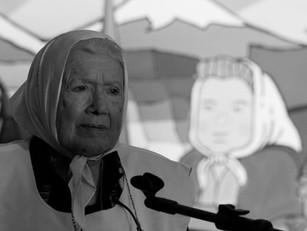 """Nora Cortiñas: """"Solo los pueblos van a parar con el horror"""""""