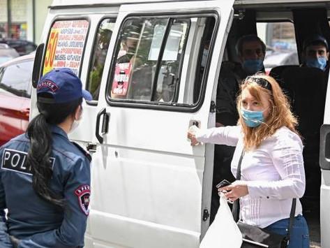 En Armenia, más de 400 contagiados de coronavirus en un día