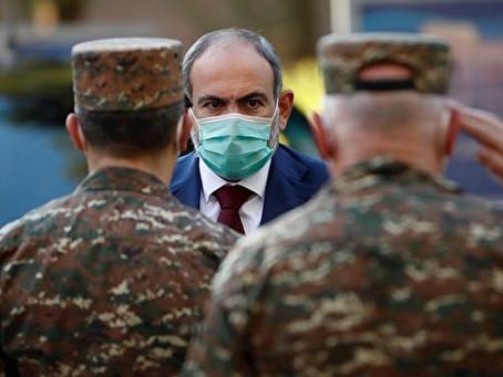 Nikol Pashinian denunció un intento de golpe de Estado