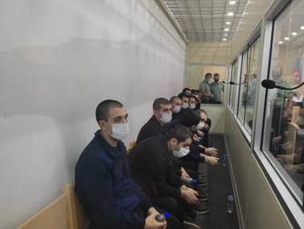 Azerbaiyán condenó a 13 prisioneros de guerra armenios a seis años de prisión