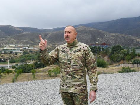 """Aliyev: """"Si hay más provocaciones, te aplastaremos la cabeza sin importar nada"""""""